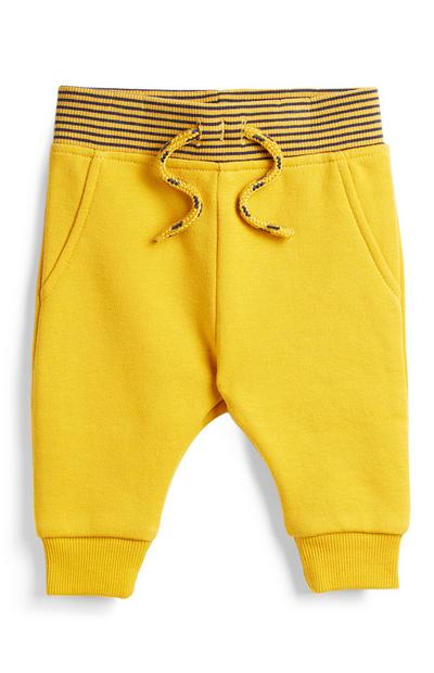 Baby Boy Yellow Joggers