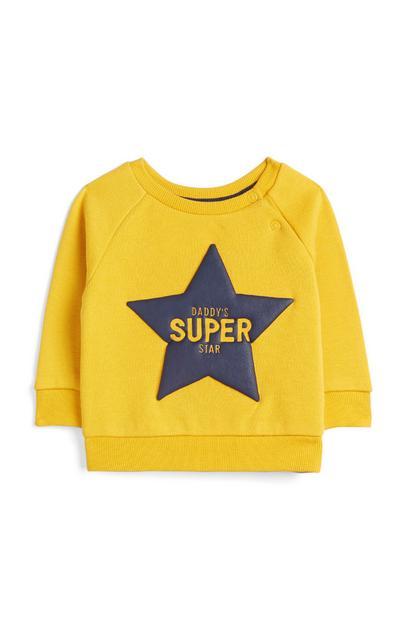 Baby Boy Yellow Jumper