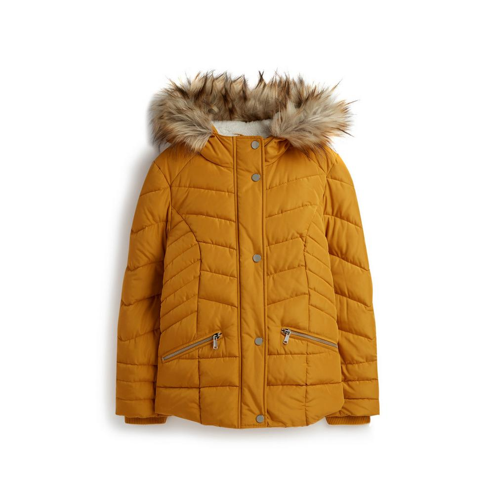best sneakers great variety models enjoy clearance price Older Girl Mustard Parka Coat | Girls Wear | Kids ...