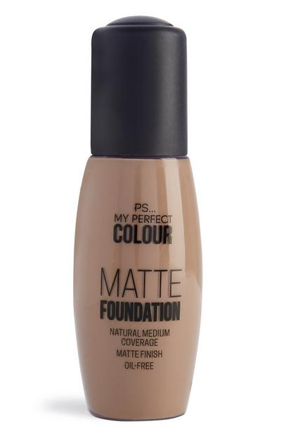 Matte Foundation Light Beige