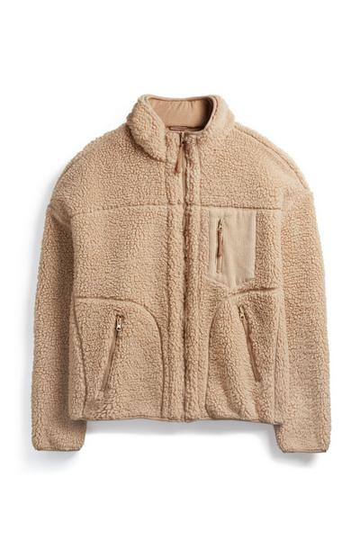 Light Brown Hiking Fleece