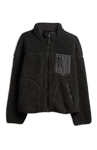 Black Hiking Fleece