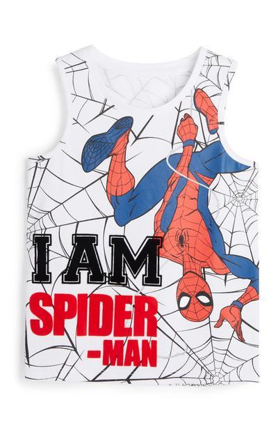 Younger Boy Spiderman Vest