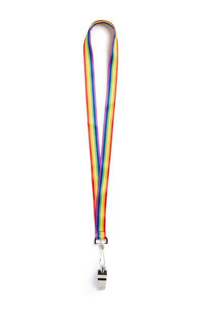 Pride Whistle Lanyard