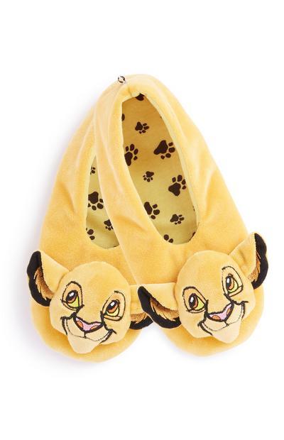 Lion King Footlet Slipper