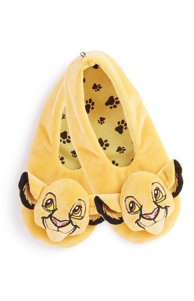 Lion King Footlet Slipper