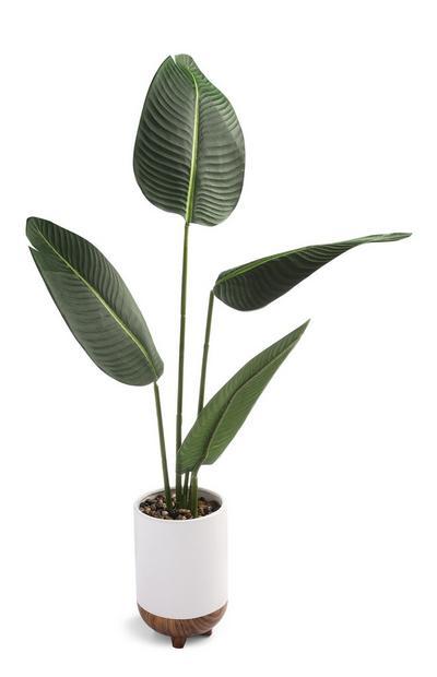 XL Faux Leaf Plant