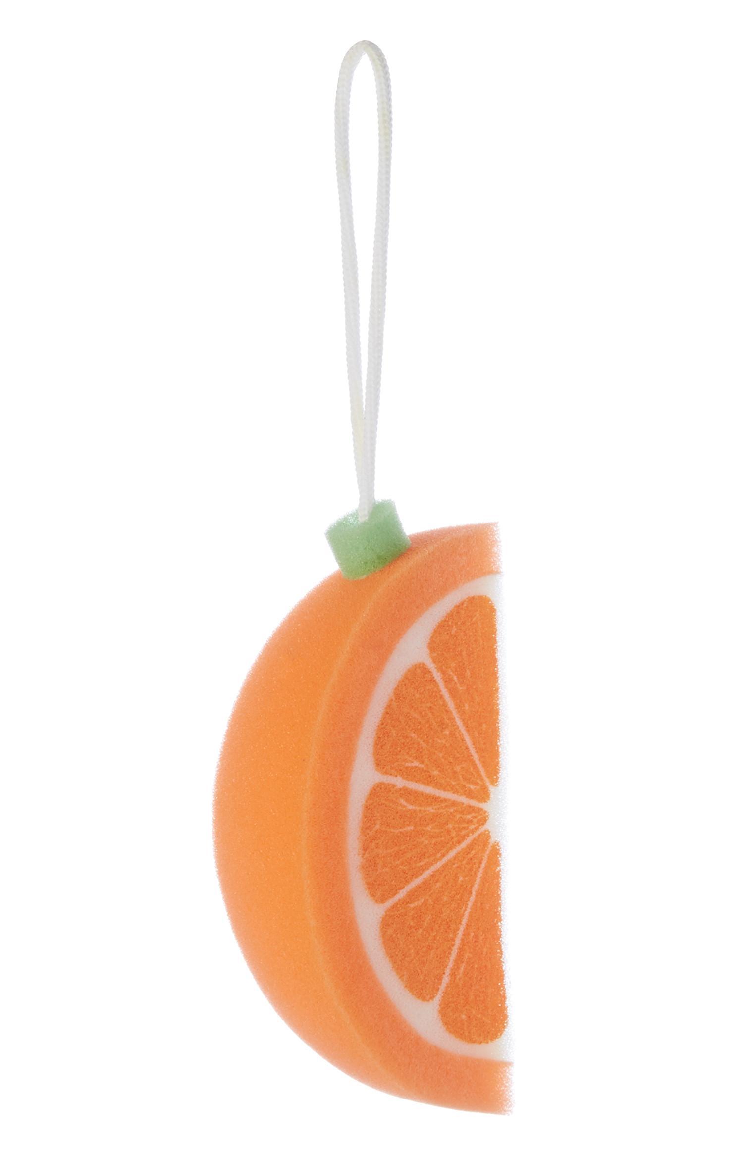 Esponja cor de laranja