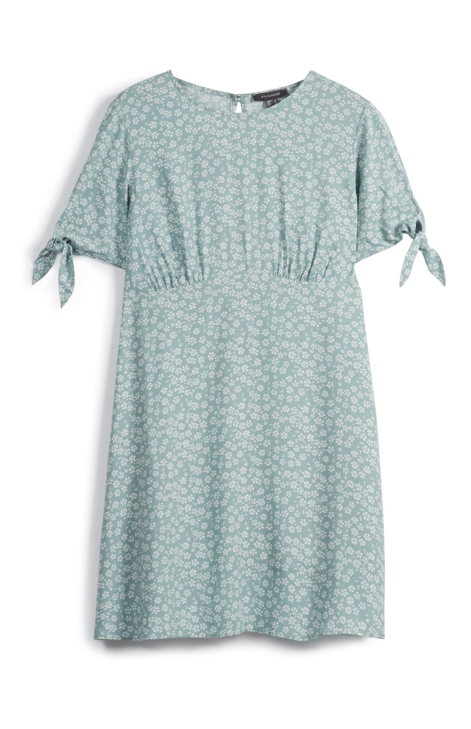 Tie Sleeve Dress
