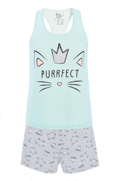 Purrfect Pyjama Set