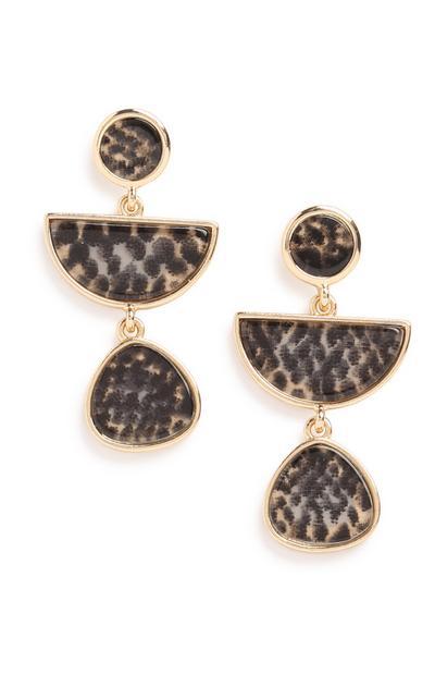 Pattern Drop Earring
