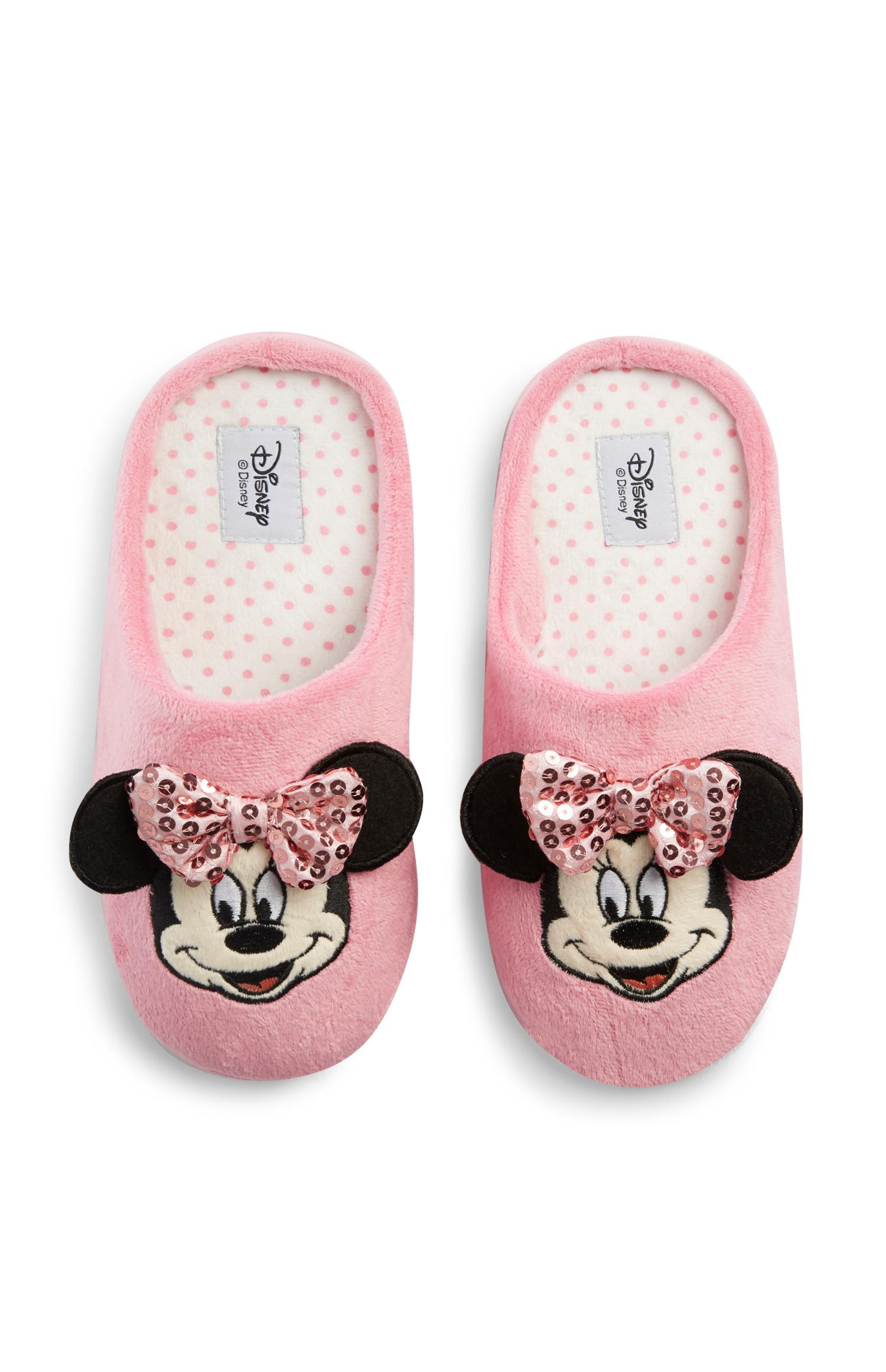 Pantuflas de Minnie Mouse