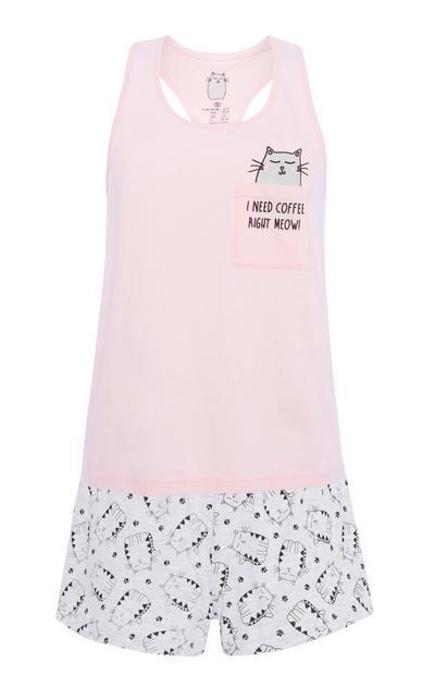 Cat Pyjama Set