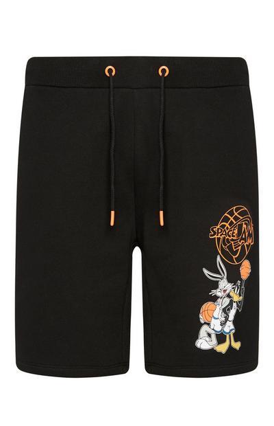 Black Space Jam Shorts