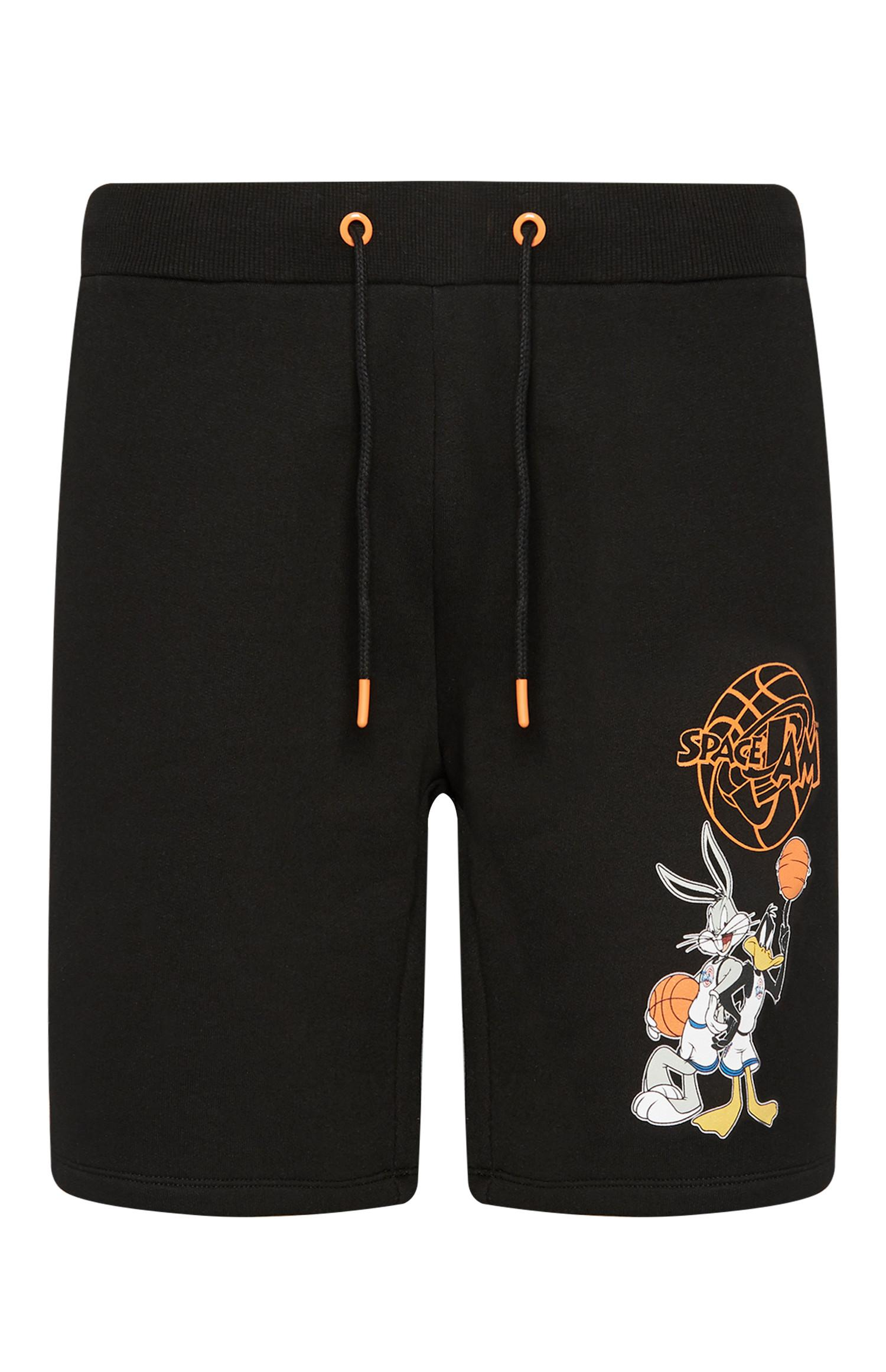 Black Space Jam Shorts