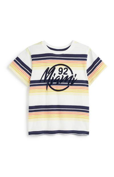Younger Boy Miami T-Shirt