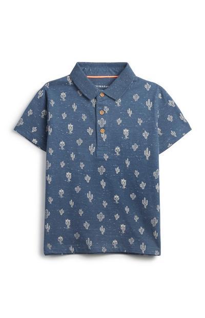 Younger Boy Cactus Shirt