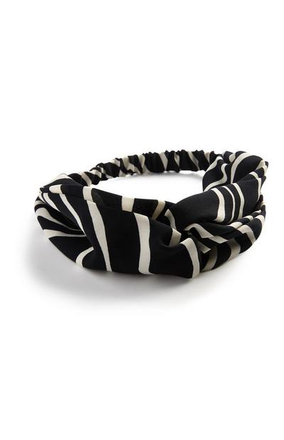 Black Stripe Headband