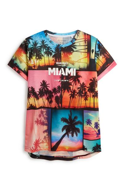 Older Boy Miami T-Shirt
