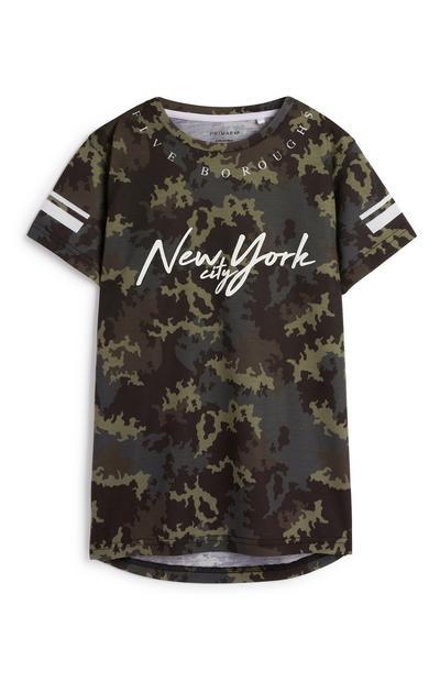 Older Boy Camo T-Shirt