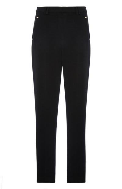 Black Slim Trouser