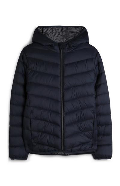 Older Boy Navy Puffer Jacket