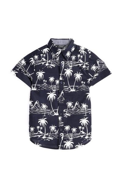 Younger Boy Palm Tree Shirt