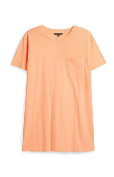 Orange Oversized T-Shirt