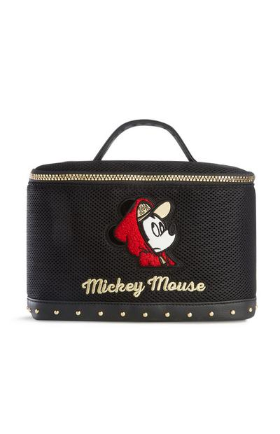 Mickey Mouse Black Vanity Bag