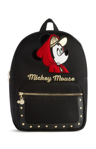 Mickey Mouse Black Backpack