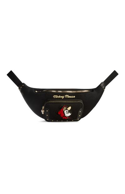 Mickey Mouse Black Bumbag