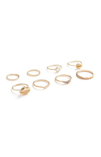 Delicate Ring 8Pk