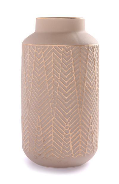 Textured Ceramic Vase