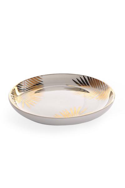 Ceramic Printed Trinket Dish