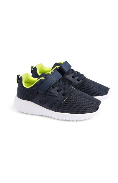 Younger Boy Navy Pylon Trainers