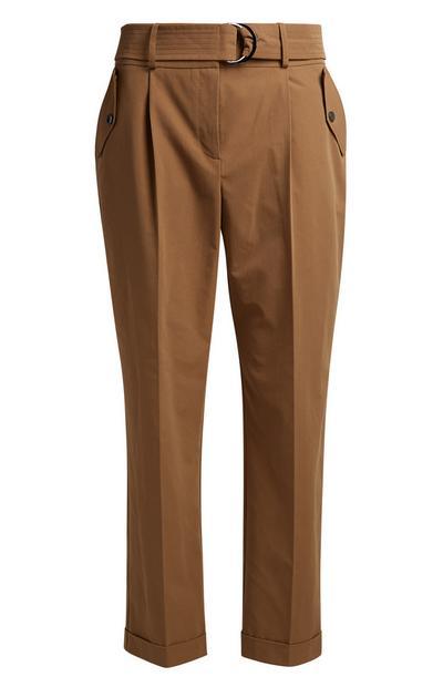 Light Brown Utility Trouser