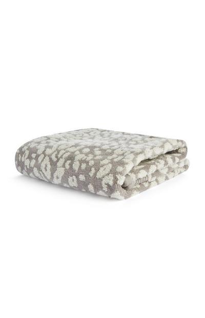 Leopard Print Towel
