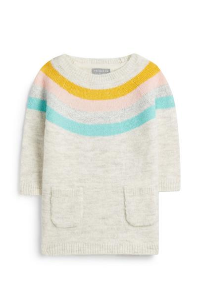 Baby Girl Rainbow Knit Dress