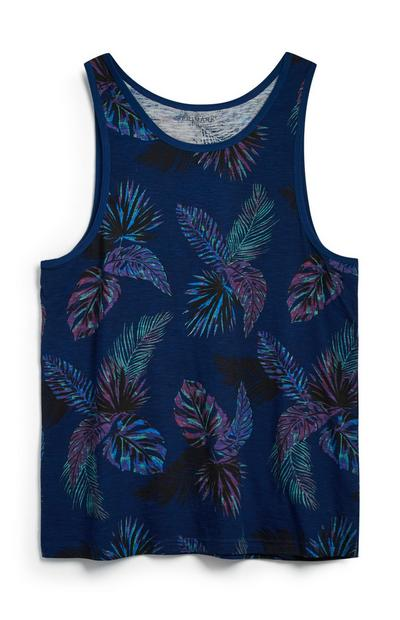 Blue Leaf Vest