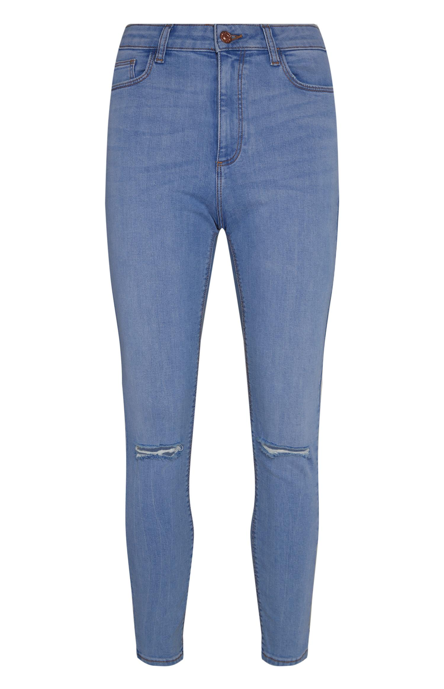 Bright Blue Skinny Jean