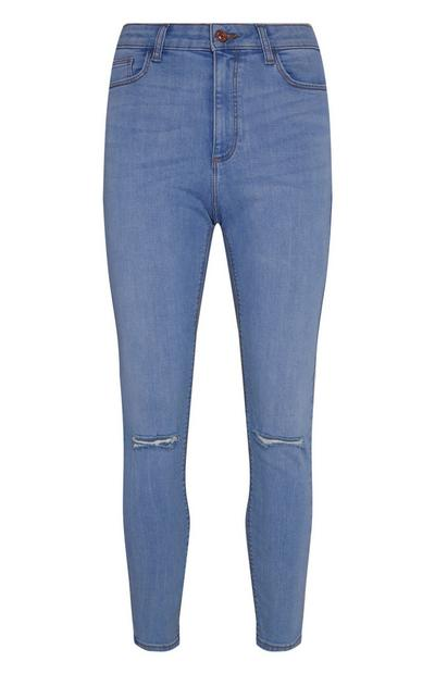 Bright Blue Skinny Jean