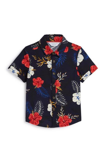 Baby Boy Floral Shirt