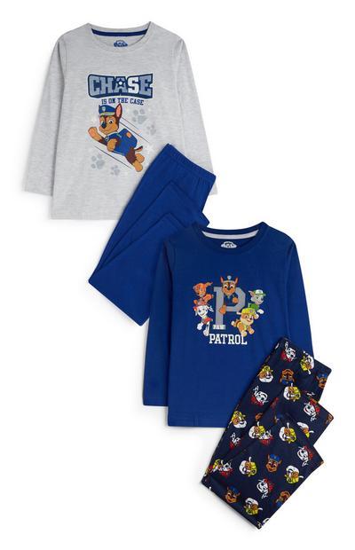 Younger Boy Paw Patrol Pyjamas 2Pk