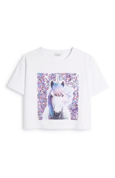 Older Girl Unicorn Top