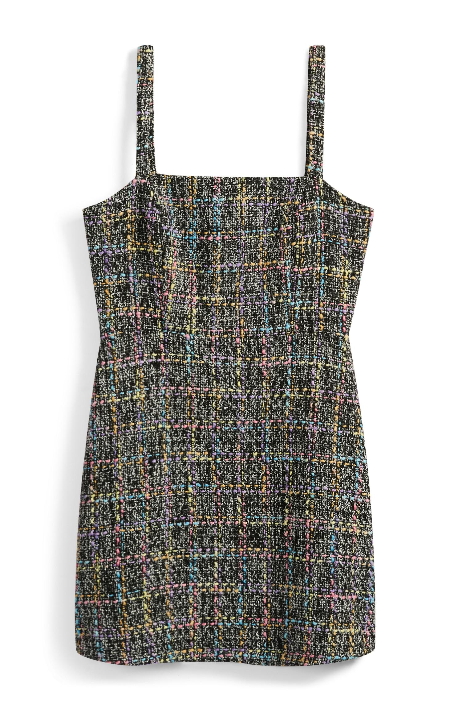 c0c1079ede24 Black Boucle Pinafore Dress | Dresses | Womens | Categories ...