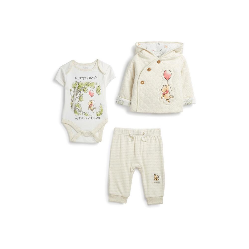 excepcional gama de estilos y colores seleccione para auténtico super barato se compara con Conjunto de 3 piezas para recién nacido de Winnie The Pooh ...