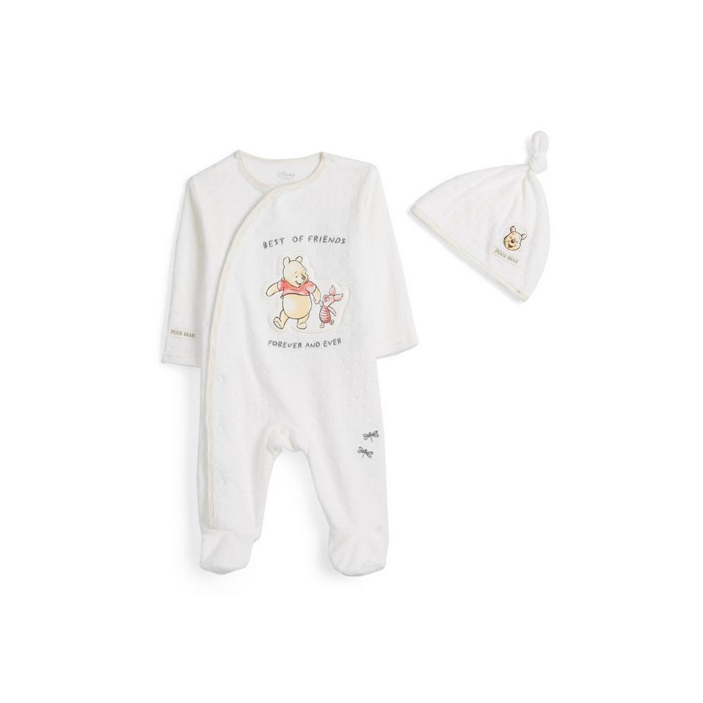 outlet in vendita Vendita di liquidazione colori armoniosi Tutina e berretto Winnie The Pooh da neonato | Capi ...