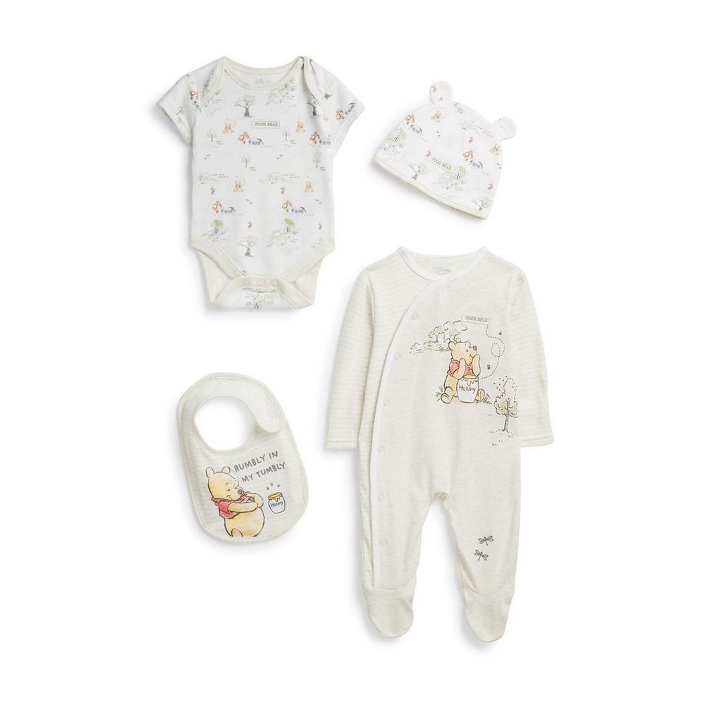 descuento más bajo ofrecer descuentos venta usa online Conjunto de 4 piezas para recién nacido de Winnie The Pooh ...