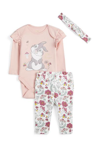 Babygirl Bambi Outfit 3Pc
