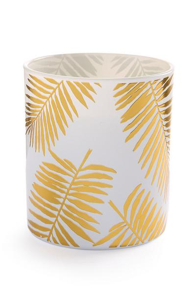 Palm Print Candle
